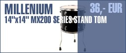 "Millenium 14""x14"" MX200 Series Stand Tom"