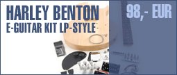 Harley Benton Electric Guitar Kit LP-Style