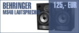 Behringer MS40 Multimedia Speaker
