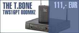 the t.bone TWS 16 PT 800 MHz