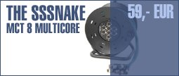 The Sssnake MCT 8 Multicore on Drum