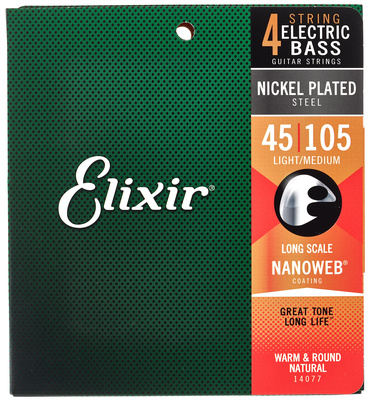Elixir Nanoweb Medium Long Scale