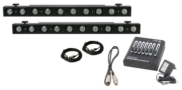Showtec Sunstrip Active DMX Bundle