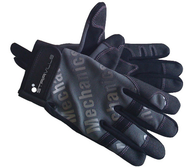 Stairville Mechanic Gloves Grey/Black S
