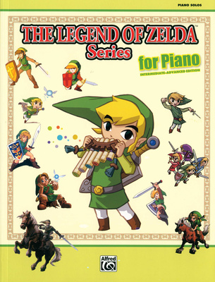 Alfred Music Publishing Legend Of Zelda Piano