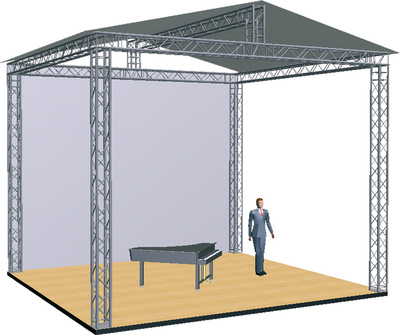 Global Truss Stage Bundle 6,5 x 6,0 x 5,0 m