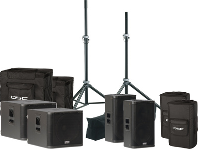 QSC kW-Series Rock 'n' Roll Set