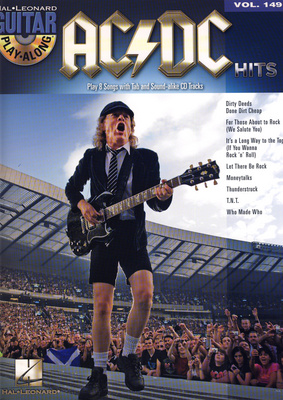 Hal Leonard Guitar Play-Along AC/DC Hits