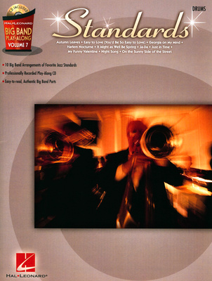 Hal Leonard Big Band Standards Drums